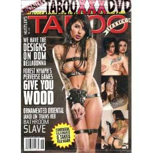 Hustlers Best of Taboo Tattoo with Bonus DVD HUSTLER Books
