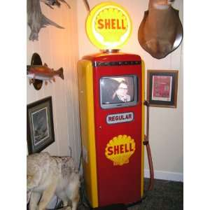 Tokeim Manufacturing Co. SHELL GAS pump Restored, Full