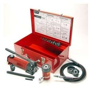 Hydraulic Knockout Set For 1/2   2 Conduit W/ Hand Pump Home