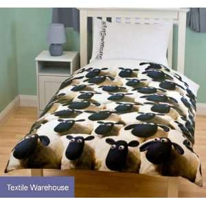 Shaun the Sheep Ewe Rotary Single Bed Duvet Quilt Cover