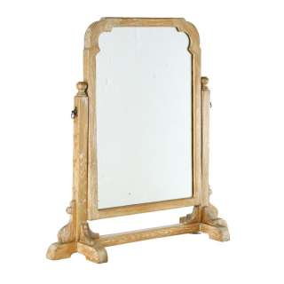 Ercol Tavern Limed Oak Vanity Dressing Table Mirror