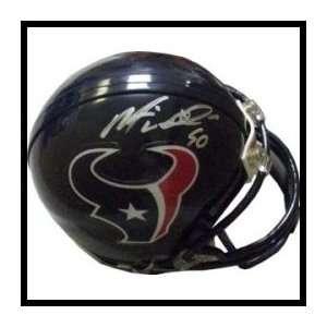 Mario Williams Autographed/Hand Signed Mini Helmet Sports