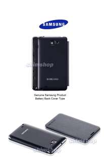 GENUINE SAMSUNG GALAXY Note LTE SGH I717 AT&T LEATHER FLIP CASE COVER