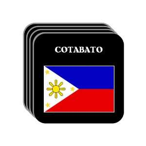Philippines   COTABATO Set of 4 Mini Mousepad Coasters