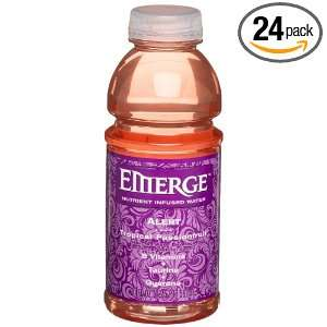 Cott Beverages Emerge Alert, Tropical Passion Fruit, 20 Ounce Bottle