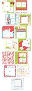 YourStory 8x8 Christmas Kit Pages Stickers Album Cover