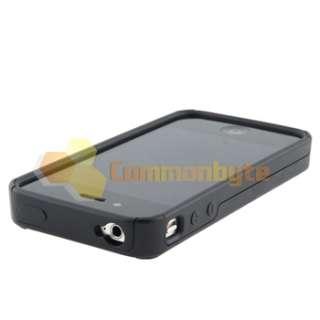 Black Checker Diamond Gem Dual Flex Hard Case+PRIVACY Filter for