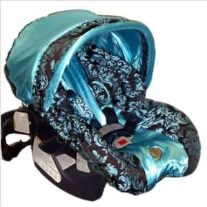 Baby Bella Maya ISC001BC Blue Champagne Infant Car Seat