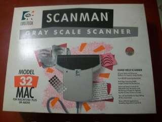 Logitech Scanman 32 MAC Hand Held Gray Scale Scanner