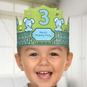 Boy Puppy Dog   Birthday Party Personalized Hats Toys & Games