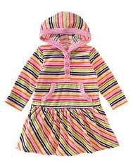 NWT Gymboree Girls Candy Shoppe Striped Dress New 18 24