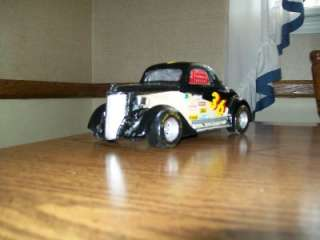 1936 Ford 3 Window Coupe Race Car Custom Built 1/18