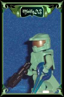 Custom LEGO minifig HALO Master Chief #13eD