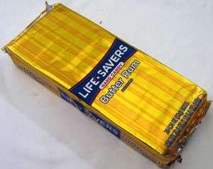 Lifesavers Butter Rum 20 Roll Box Hard Candy Life Saver