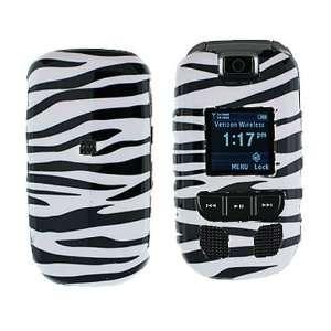 Samsung Convoy U640 Cell Phone Black/White Zebra Design