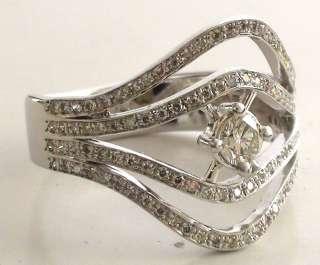 Vintage VS Round Rozet Cut Diamond 14k Yellow Gold Solitaire