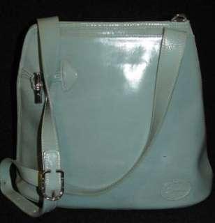 Authentic LONGCHAMP Toggle Teal Roseau Shoulder Bag