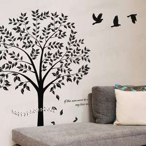 DIY 150*120cm Decorative Wall Paper&Art Sticker Tree ML73