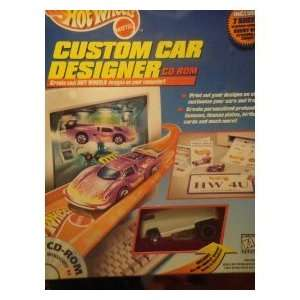 Hot Wheels Classic Custom Car Designer PC CD Rom including