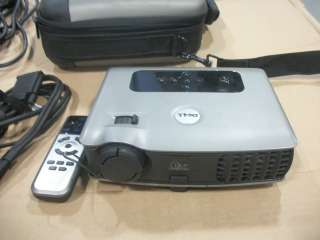 Dell (3400MP) DLP Projector W/caring case, cables and remote