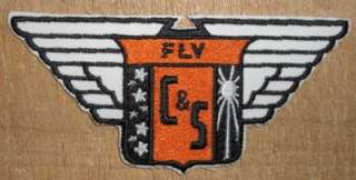 Delta Airlines Fly Chicago & Southern Shirt Patch