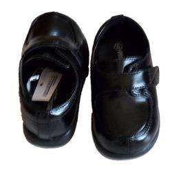 baby boys Black Loafers dress shoes 4 infant