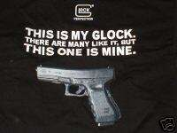THIS IS MY GLOCK SHIRT BLACK GUNNY APPROVED R LEE ERMEY