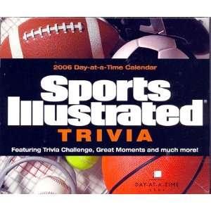Sports Illustrated Trivia 2006 Calendar (Box Set) Office