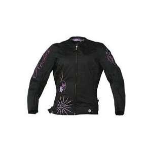 Joe Rocket Ladies Heartbreaker Textile Jacket Small White