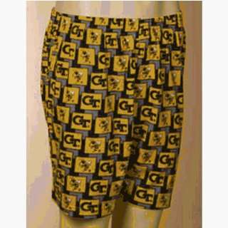 Yellowjackets NCAA Mens Pattern 2 Boxer Shorts Sports & Outdoors