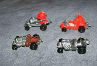 Vintage Hot Wheels Zowees Lot of 4 Diablo Good Knight More  