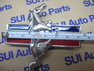 Ford Mustang Pony Horse Fender Emblems RH & LH Brand New OEM (F8 3z