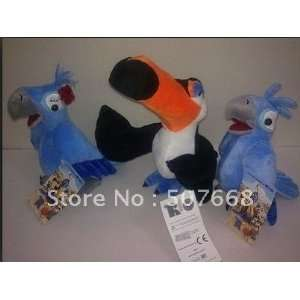 new arrival rio plush toy ice age 3d movie creators blue