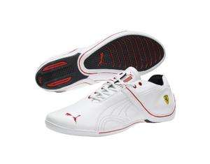 NEW PUMA FERRARI FUTURE CAT REMIX SHOES SNEAKERS WHITE