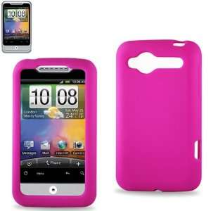 Silicone Case 01 HTC WILDFIRE/G8 HOT PINK Cell Phones