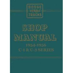 1954 1955 1956 Dodge Truck Factory Service Manual