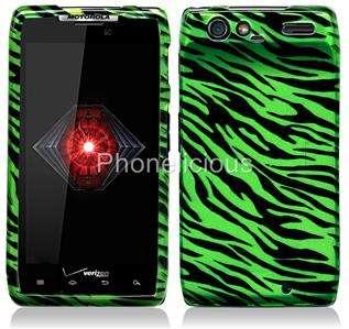 Accessory For MOTOROLA DROID RAZR Phone Cover Hard Case Cover GREEN