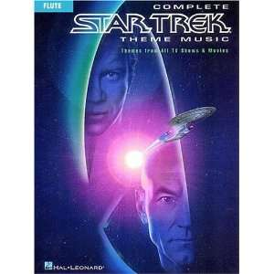 Complete Star Trek Theme Music (9780793588299) Hal