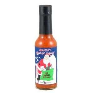 Santas Smokin Chimney Red Habanero Hot Sauce