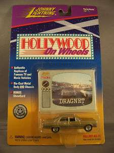 Dragnet Die Cast Car Hollywood Wheels Johnny Lightning