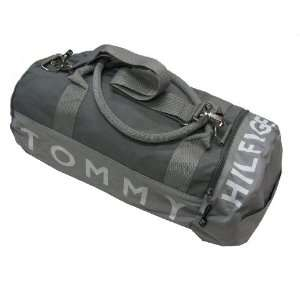 Tommy Hilfiger Big Logo Duffle Bag (Gray): Clothing