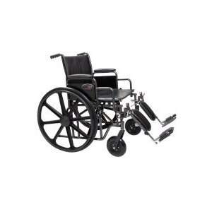 Everest and Jennings Traveler Heavy Duty Wheelchair 24