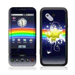 Rainbow Stars Decorative Skin Cover Decal Sticker for HTC