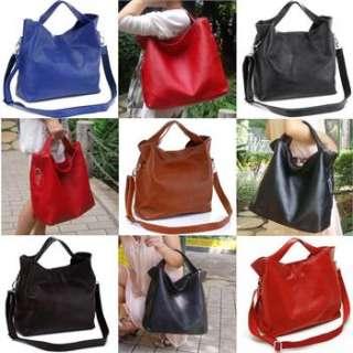 NEW Ladys Real Leather Shoulder Backpack Bag EBR01