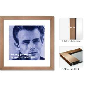 Bronze Framed James Dean Immortality Quote Great Art