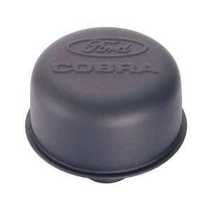 302 226 Ford Cobra Air Breather Cap Black Crinkle PushIN Automotive