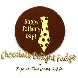 Happy Fathers Day Chocolate Delight Fudge Box Grocery