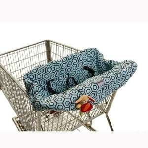 Hollywood Blue  Grocery Cart/high Chair Cover Baby