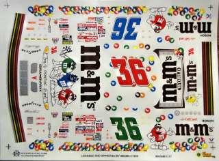 36 Ernie Irvan 1998 M&M's Pontiac Grand Prix