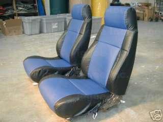 PONTIAC FIERO GT VINYL CUSTOM SEAT COVER
